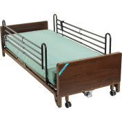 Ultra Light Plus Full-Electric Low Bed, Full Length Side Rails, Spring Mattress