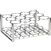 "Deluxe Oxygen Cylinder Rack, Use with 12 ""D/E"" Style Cylinders"
