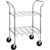 Drive Medical 18144 Oxygen Cylinder Cart, For Use with 20 C, D, E, or M9 Cylinders
