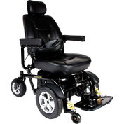 "Drive Medical 2850HD-22 Trident HD Heavy Duty Power Wheelchair, 22"" Captain Seat"