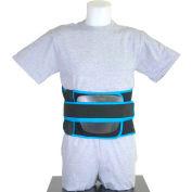 "Drive Medical VerteWrap LSO Back Brace 631S, Small, 28""-33"", Black"