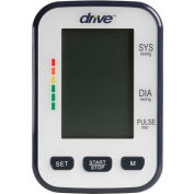 Drive Medical BP3400 Deluxe Automatic Blood Pressure Monitor, Upper Arm Model