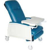 3 Position Geri Chair Recliner, Rosewood