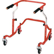 Pediatric Posterior Safety Rollers, Red