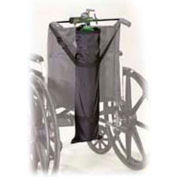 "Oxygen Cylinder Carry Bag For Wheelchairs, 26.5"" x 7.5"" x 4.75"", Fits Most Wheelchairs"