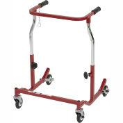 Drive Medical Anterior Safety Roller CE 1000 B, Adult, Steel, Burgundy