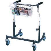 Drive Medical Anterior Safety Roller CE 1000 BK, Adult, Steel, Black