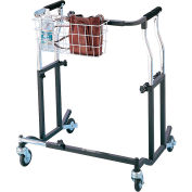Drive Medical Bariatric Anterior Safety Roller CE OBESE XL, Steel, Obese X-Large, Heavy Duty, Black