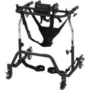 Drive Medical Comet Anterior Gait Trainer CO 2000, Adult, 400 Lbs. Capacity, Black