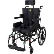 "Drive Medical Adult Kanga TS Pediatric Tilt In Space Wheelchair, 16"" Seat Width"