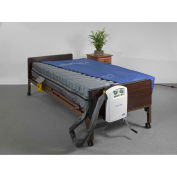 "Drive Medical Masonair 10"" Low Air Mattress and Alternating Pressure Mattress System, 80""L x 48""W"