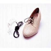 """Drive Medical Shoe & Sneaker Laces RTL2050, Elastic, 27""""L, Black"""