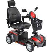 "Drive Medical VENTURA420CS Ventura DLX 4-Wheel Power Mobility Scooter, 20"" Captain's Seat"