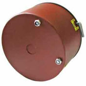 "NEMA 2 Dripproof Brakes for 56C, 143TC-145TC Motors - 3/4"" Dia. 575V 3 lb-ft Steel"