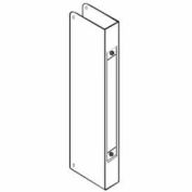 Don Jo 504-CW-S Mortise Lock Wrap Around Plate For 86 Cut-Out, Stainless Steel