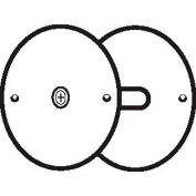 "Don Jo BF 161-PC Hole Filler Plate, 2-5/8""Dia, Prime Coat - Pkg Qty 10"