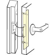 "Don Jo FLP 211-DU Latch Protector For AL Entrance Doors, 1-3/4""x11-1/4"", Dura Coated - Pkg Qty 10"