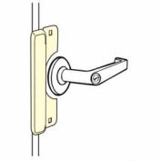 "Don Jo LELP 208 EBF-SL Latch Protector Use W/Electric Strikes, Fits 3-3/4""Rose, W/Fasteners, SC - Pkg Qty 10"
