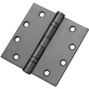 "Don Jo NRPBB74545-633 Non Removable Pin Mortise Ball Bearing Template Hinge, 4-1/2""x4-1/2"", BB - Pkg Qty 3"