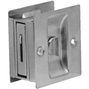 "Don Jo PDL 101-613 Privacy Pocket Door Lock, 2-1/2""x2-3/4"", Oil Rubbed Bronze - Pkg Qty 10"