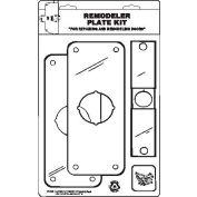 "Don Jo RPK 109-605 Remodeler Plate Kit, 3-1/2""x9"", Polish Brass - Pkg Qty 10"