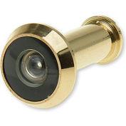 "Don Jo ULDV 180-605 Door Viewer, 180°, 9/16""Installation Hole, UL Rated, Polish Brass - Pkg Qty 10"