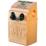 DOGIPOT® All-In-One DOGVALET®, Polyethylene, Litter Bag Rolls, Sand Beige