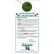 DOGIPOT® Informational Door Hanger, 50/Pack