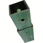 """DOGIPOT® 4'-8' Galvanized Steel Telescopic 2"""" Square Post"""