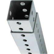 "DOGIPOT® 4' Galvanized Steel 2"" Square Post"
