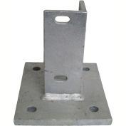 Flat Concrete Mounting Base