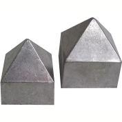 "Small Pyramid Rain Cap, 1.75"""