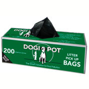 DOGIPOT® Litter Pick Up Bag Rolls, 30 Roll Case (6,000 Bags)