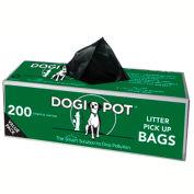 DOGIPOT® Litter Pick Up Bag Rolls, 30 Roll Case (6,000 Bags)