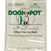 DOGIPOT® Litter Pick Up Bags, 20 Bag Sample Pak, 100/Case