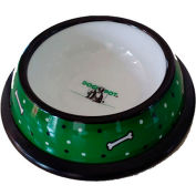 """DOGIPOT® Dog Bowl, Recycled Plastic, 10"""" x 2-1/2"""""""
