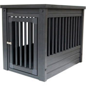 DOGIPOT® Two-In-One Table Dog Crate, Large, Espresso