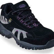 McRae MR47300 Women's Black & Gray Steel Toe XRD Met Guard Lace Up Hiker Shoes, Size 5 M