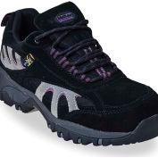 McRae MR47300 Women's Black & Gray Steel Toe XRD Met Guard Lace Up Hiker Shoes, Size 7.5 M