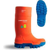 Dunlop® Purofort® Thermo+ Full Safety Men's Work Boots, Size 10, Orange