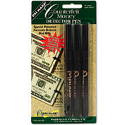 Smart Money Counterfeit Bill Detector Pen for Use with US Currency, 3/Pack