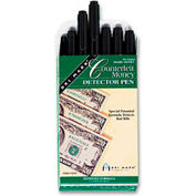 Smart Money Counterfeit Bill Detector Pen for Use with US Currency, Dozen