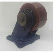 "Darnell-Rose Shear Disc Series Rigid Plate Caster RDC-0110-104RS - Rubber 10""Dia. 1400 Cap. Lb."