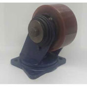 "Darnell-Rose Shear Disc Series Swivel Plate Caster SDC-0110-010RS - Rubber 10""Dia. 1000 Cap. Lb."