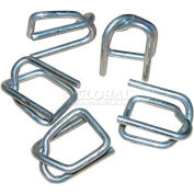 "DS-075 Buckles, 3/4""W, Steel 100/Bag, White"