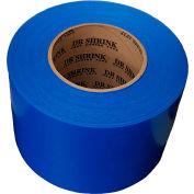 "Dr. Shrink Heat Shrink Tape 3""W x 180'L 9 Mil Blue - Pkg Qty 16"