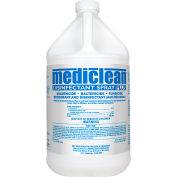 Mediclean Disinfectant Spray Plus 221522000 - 1 Gallon - Case of 4