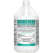 Mediclean Germicidal Cleaner Concentrate, Lemon Scented 221592909 - 1 Gallon - Case of 4