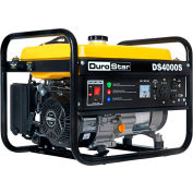 DuroStar DS4000S, 3300 Watts, Portable Generator, Gasoline, Recoil Start, 120V