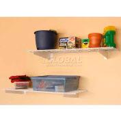 45W x 15D Light Duty Wall Shelves, Set Of 2